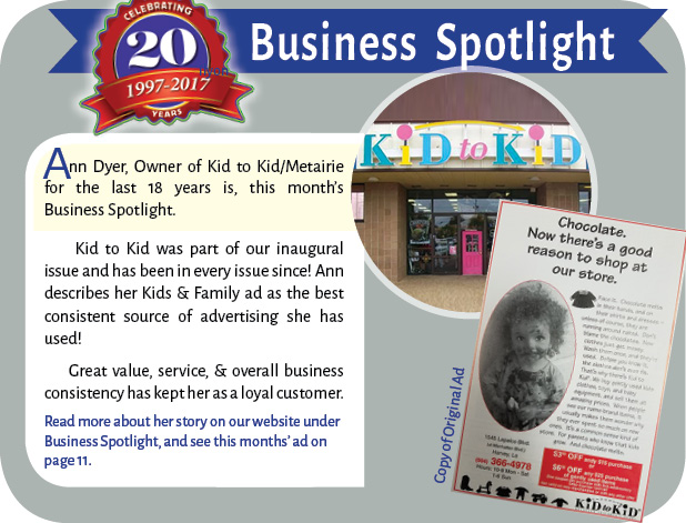 18daae00 Kid to Kid owner Ann Dyer has been serving local families for over 20 years  now. She prides herself in helping families utilize their resources by ...